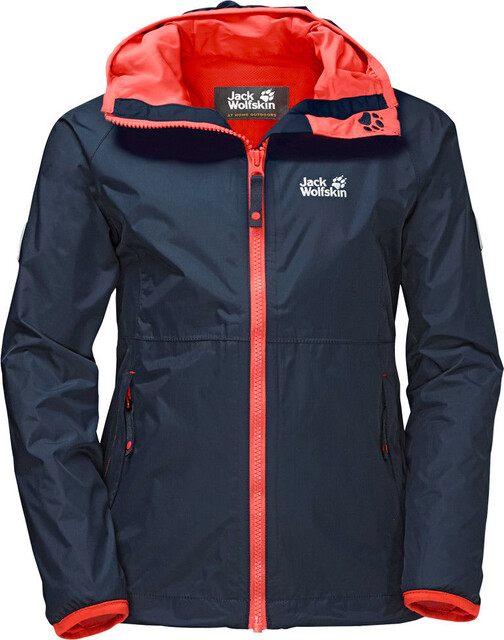 Jack Wolfskin Rainy Days Jacket Mädchen midnight blue